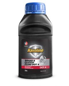 HAVOLINE BRAKE & CLUTCH FLUID DOT4 – 24 X 250 ML